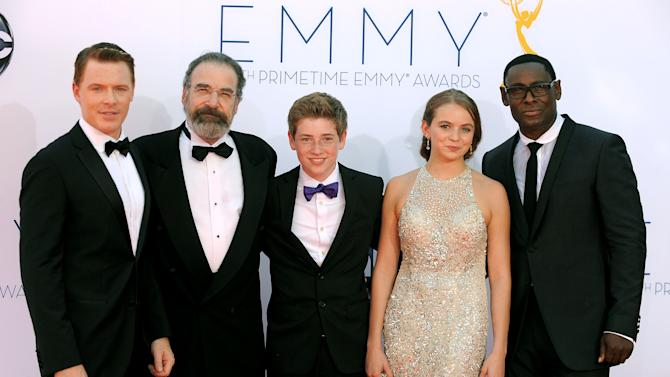 'Homeland' and 'Modern Family' win big at Emmys