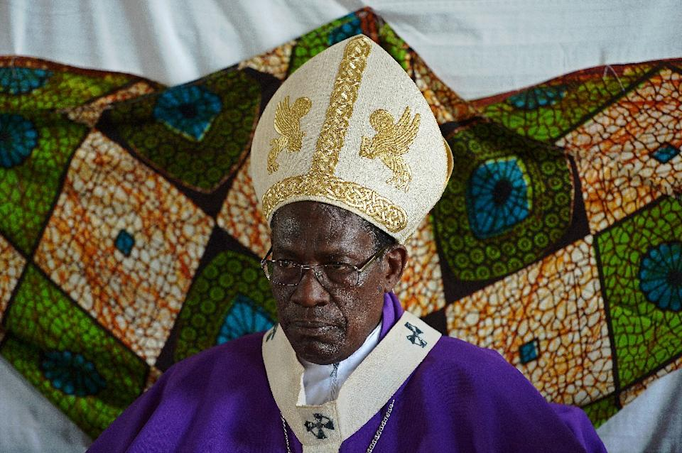Archbishop Simon Ntamwana