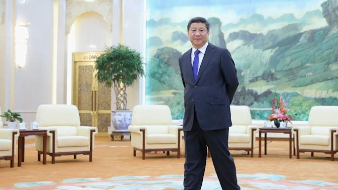 Chinese President Xi Jinping, pictured at the Great Hall of the People, in Beijing, on March 16, 2015