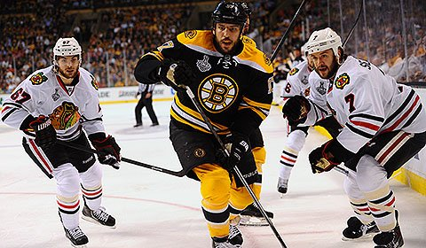 2013 Chicago Blackhawks vs. Boston Bruins