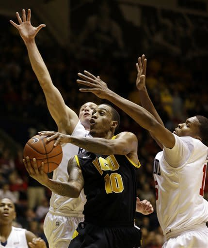 Spiders end No. 19 Rams streak at 13, 86-74