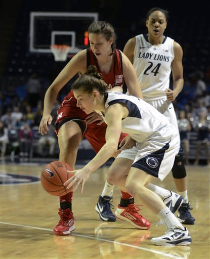 No. 8 Penn State women rout Nebraska 80-58