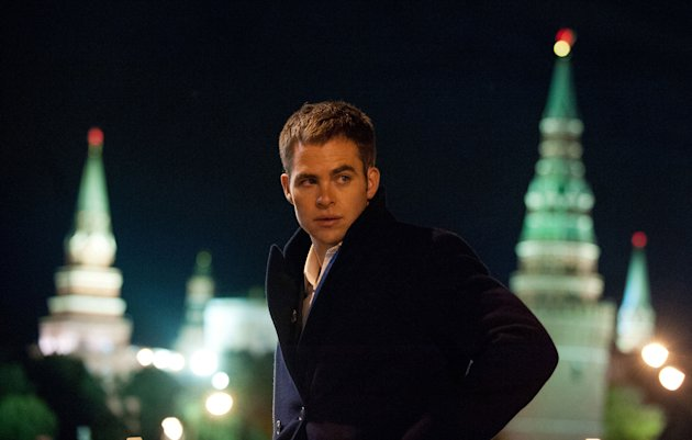 "Chris Pine in ""Jack Ryan: Shadow Recruit"""