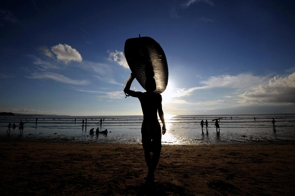 Australian man dies surfing in Indonesia: police