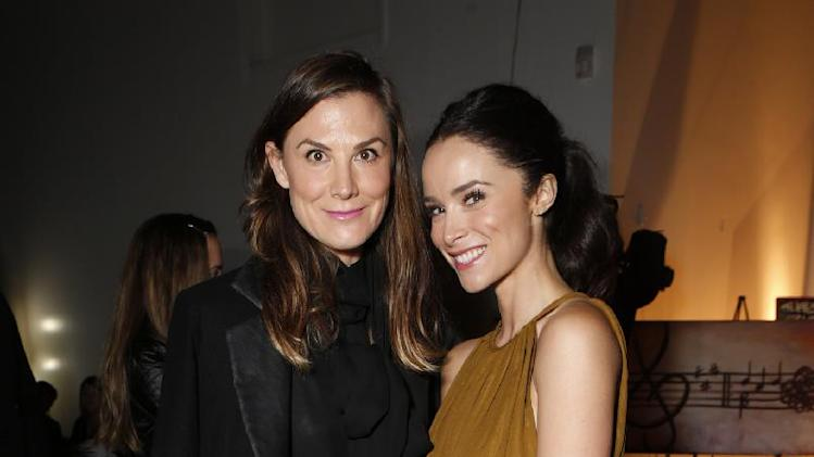 Heidi Merrick and Abigail Spencer attend the 3rd Annual Witness Uganda Concert Presented by Siren Studios to Benefit UgandaProject on Thursday December 6, 2012 in Los Angeles, California. (Photo by Todd Williamson/Invision for UgandaProject/ AP Images)