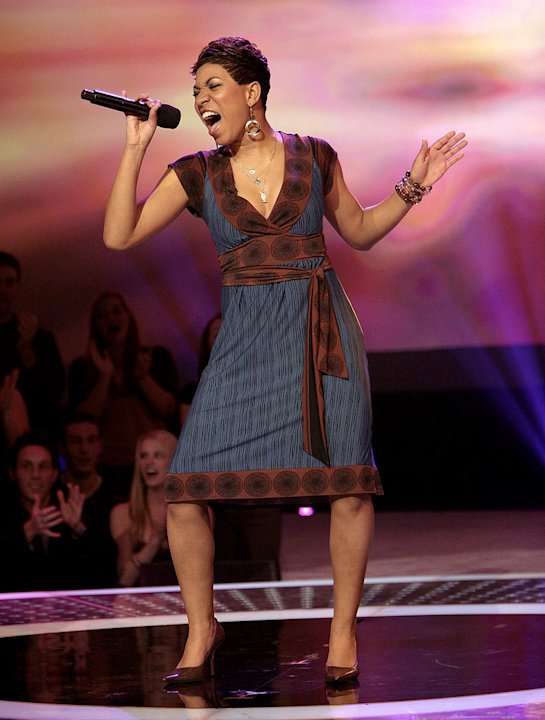 Stephanie Edwards performs …