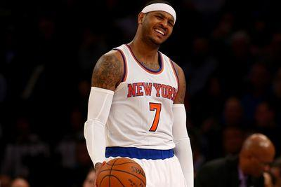 The Knicks will be better only because they can't be any worse