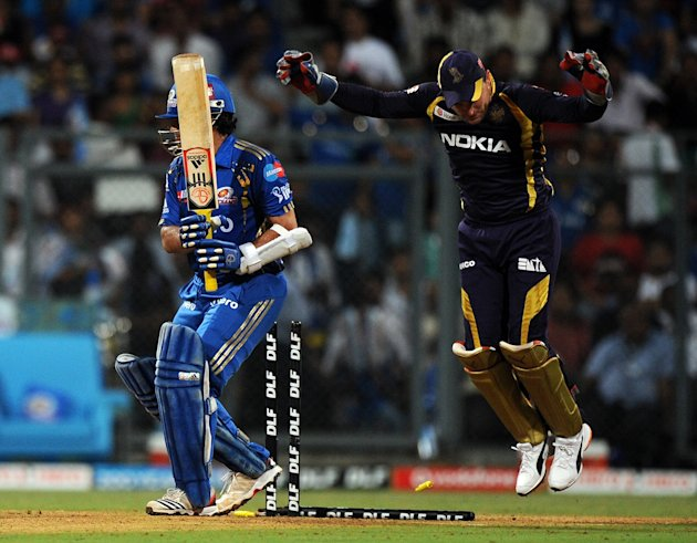 Kolkata Knight Riders wicket keeper Bren