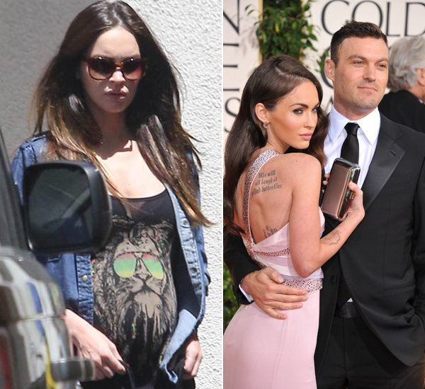 Megan Fox und Brian Austin Green sind Eltern eines Sohnes geworden (Bilder: Action Press/Getty Images)