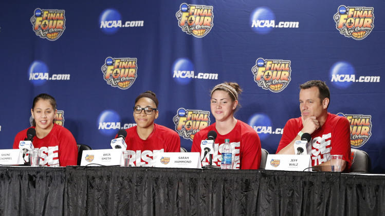 NCAA Womens Basketball: NCAA Tournament-Louisville Practice