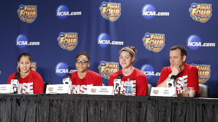 NCAA Womens Basketball: NCAA Tournament-Louisville Practice