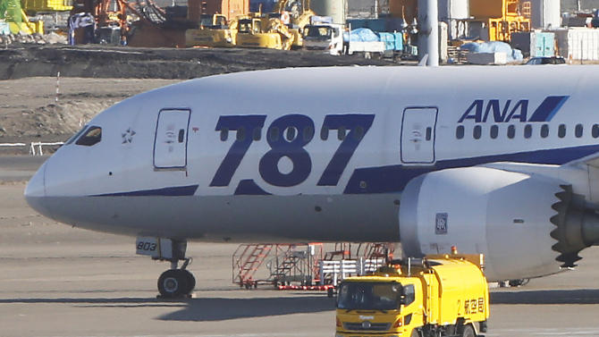 Japan identifies some Boeing 787 problems