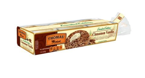 Thomas'® English Muffins Introduces the Flavor of the Year: Cinnamon Vanilla