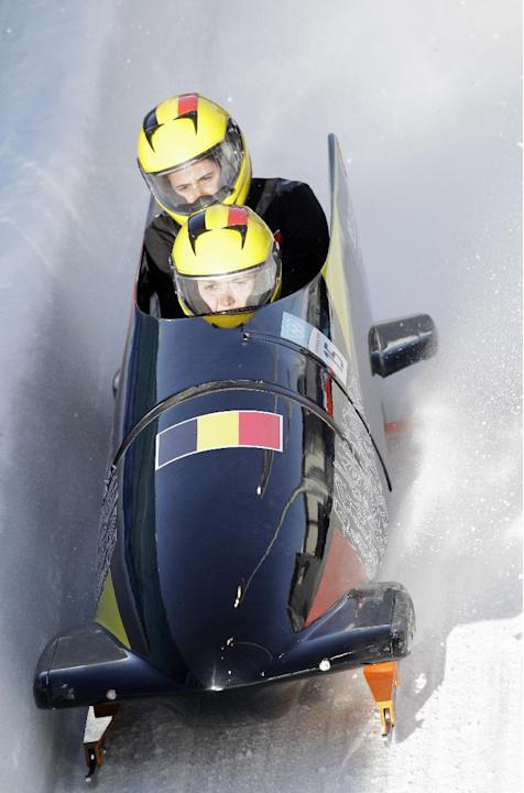 Sports - 2010 Winter Olympics - Bobsleigh - Whistler Sliding Centre - Vancouver