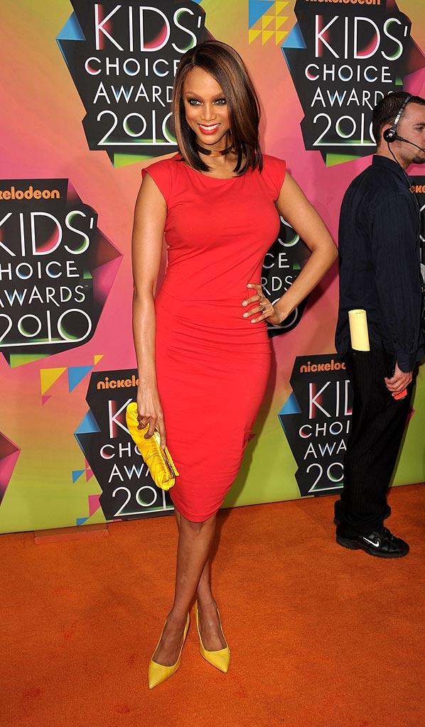 Banks Tyra Kids Choice Awards