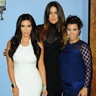 Kim, Khloé, and Kourtney Kardashian