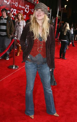 Christina Applegate at the Los Angeles premiere of New Line Cinema's The Number 23
