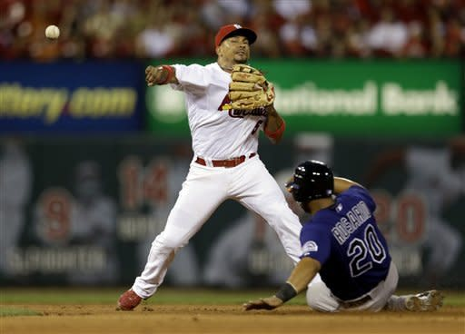 Craig hits 2 homers, Cardinals rip Rockies 9-3
