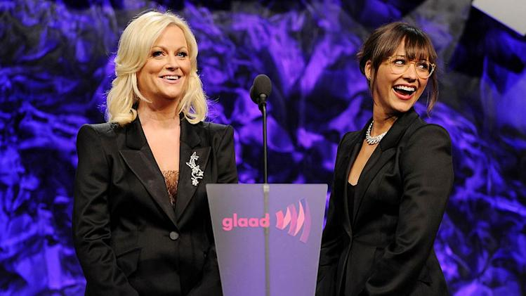 Poehler Jones GLAAD Aw