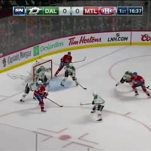 Kari Lehtonen Save on Jiri Sekac (03:24/1st)