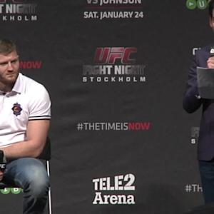 Fight Night Stockholm: EMEA Press Conference Highlights