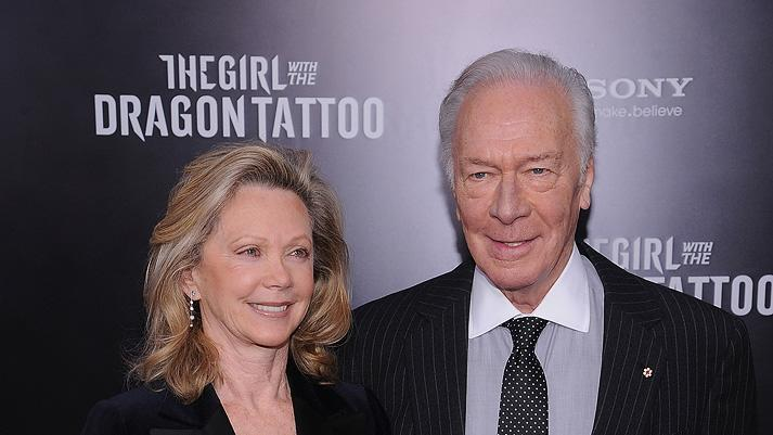 The Girl with the Dragon Tattoo NY Premiere Christopher Plummer