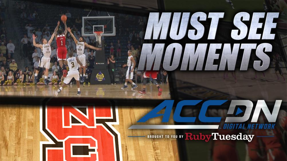 Trevor Lacey saves NC State with buzzer-beating three