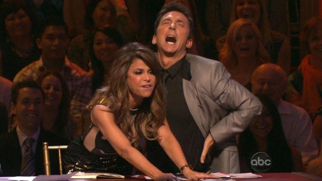 Paula Makes Playful Debut as 'DWTS' Guest Judge