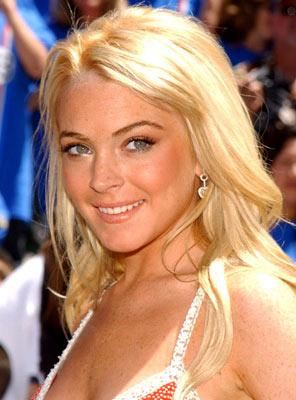 Lindsay Lohan at the Hollywood premiere of Walt Disney Pictures' Herbie: Fully Loaded