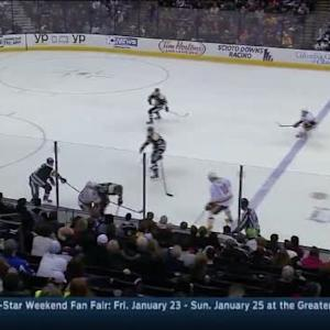 Jared Boll Hit on Taylor Beck (13:36/3rd)