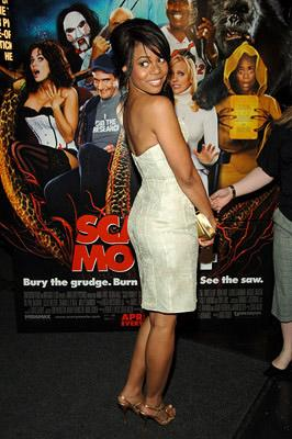 Regina Hall at the NY premiere of Dimension's Scary Movie 4