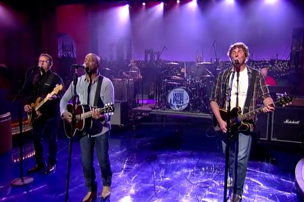 Hootie and the Blowfish Reunite to Perform 'Hold My Hand' on 'The Late Show' (Video)