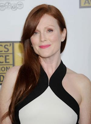 Julianne Moore arrives at The Critics' Choice Television Awards at The Beverly Hilton Hotel on June 18, 2012 in Beverly Hills -- Getty Images