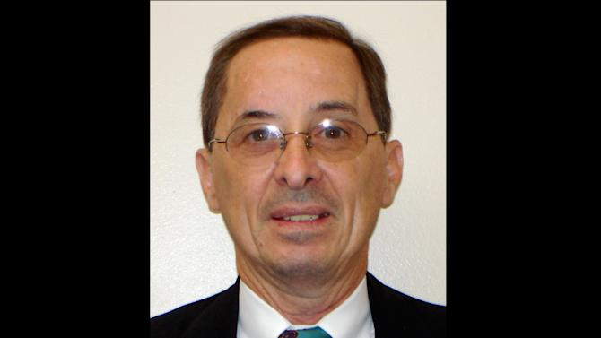 This undated handout photo provided by the Kaufman County Sheriff's office shows assistant district attorney Mark Hasse, 57, who was shot and killed Thursday morning, Jan. 31, 2013, in Kaufman, Texas. Authorities said they were searching for two suspects that attacked him as he exited his vehicle in the parking lot behind the Kaufman County Courthouse annex where he worked. (AP Photo/Kaufman County Sheriff)