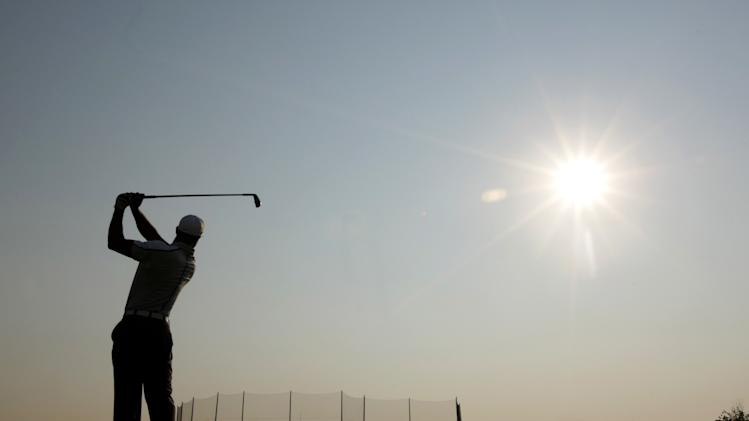 PGA: The Barclays-Practice Round