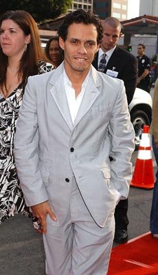 Marc Anthony at the LA premiere of 20th Century Fox's Man on Fire