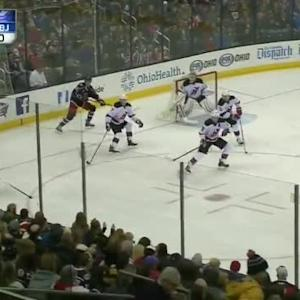 Cory Schneider Save on Marko Dano (11:04/2nd)