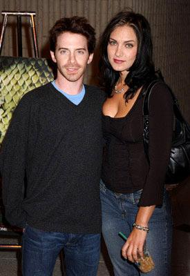 Premiere: Seth Green and Liz Levy at the Westwood premiere of Screen Gems' Anacondas: The Hunt for the Blood Orchid - 8/25/2004 Photos: www.wireimage.com/