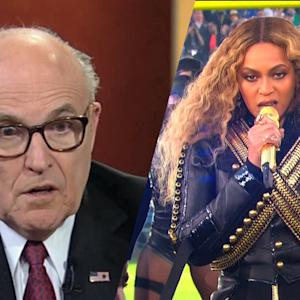 Rudy Giuliani Criticizes Beyoncé's Super Bowl 50 Halftime Performance