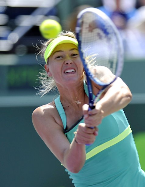Tennis: Sony Open Finals-Williams vs Sharapova