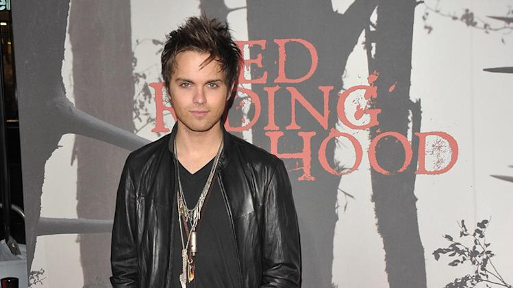 Red Riding Hood 2011 LA Premiere Thomas Dekker