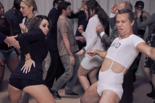 Taran Killam on Twerking With Miley Cyrus in 'SNL' Shutdown Sketch: 'I Was With the Master, Right?'