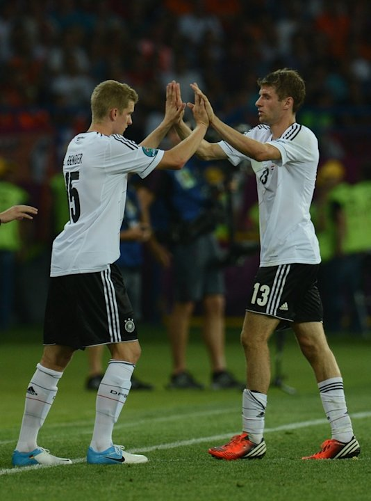German Forward Thomas Mueller …