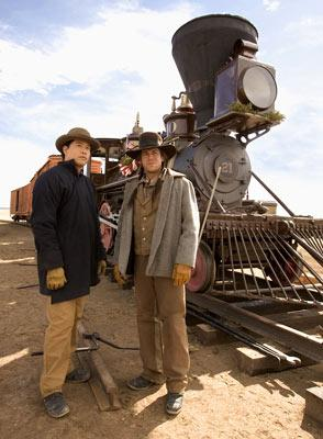 Garrett Wang and Christian Kane TNT's Into the West
