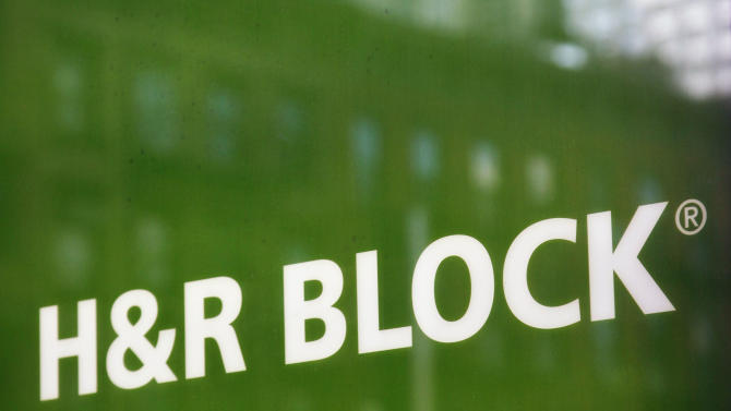 H&R Block trims 2Q loss, but revenue slips