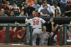 Angels protest game, beat Astros 6-5 anyway