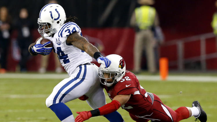 Colts bench Richardson in favor of Donald Brown