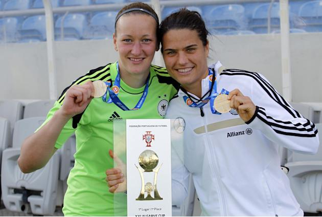 Germany beats Japan 3-0 to win Algarve Cup