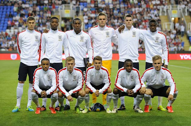 Soccer - UEFA Euro Under 21 Qualifying - Group 1 - England U21 v Moldova U21 - Madejski Stadium