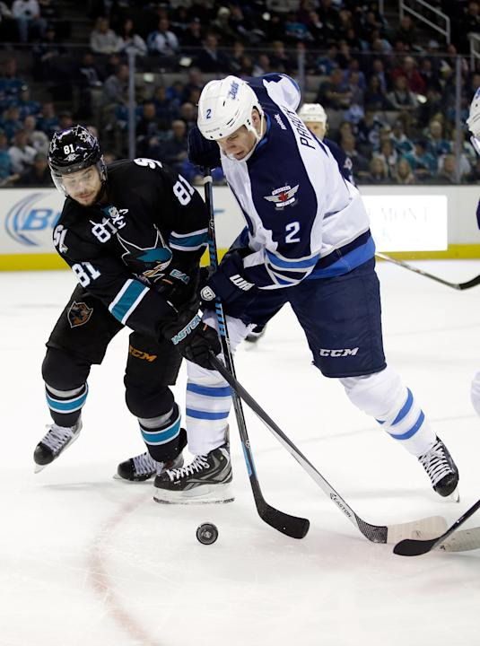 Winnipeg Jets v San Jose Sharks